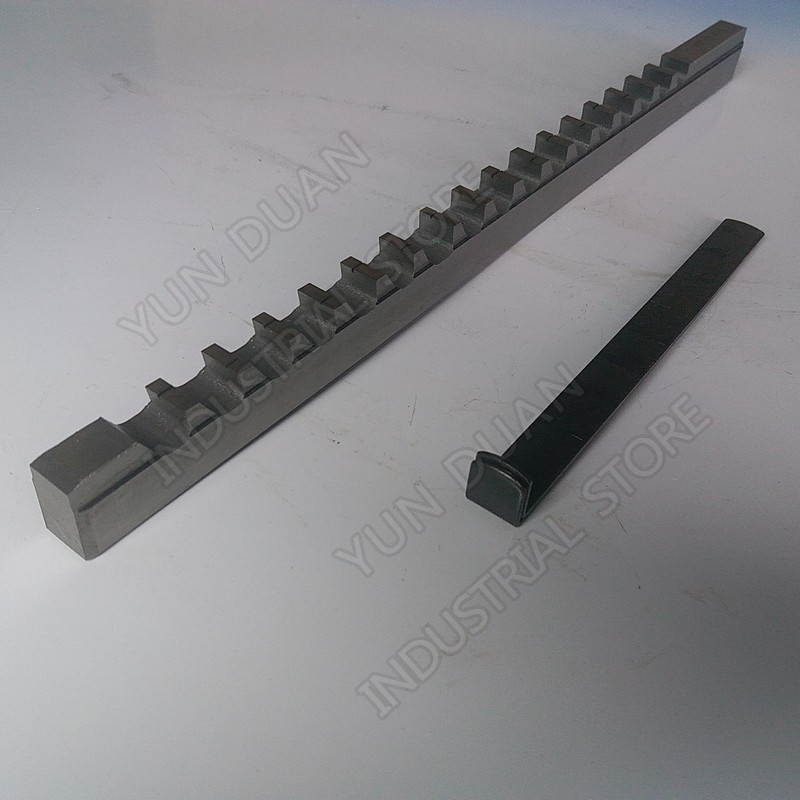Keyway Broach 10mm D Push Type High speed steel HSS Cutting Tool for CNC Broaching machine
