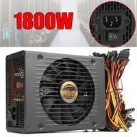 80 PLUS Platinum Mining power Supply 1800W pc Bitcoin miner R9 380/390 RX 470/480 RX 570 1060 for antminer A6 A7 S5 S7 B3 C9 D3