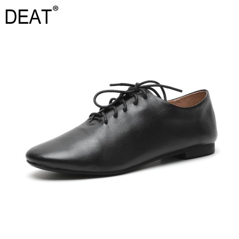 Planos Black Primavera Redondo Zapatos Dedo Del 2019 Casual sordo white Moda 10sj235 La Encaje Verano Nuevo De Mujer Pie Individuales Simple Marea Sólido n1Z1W8S