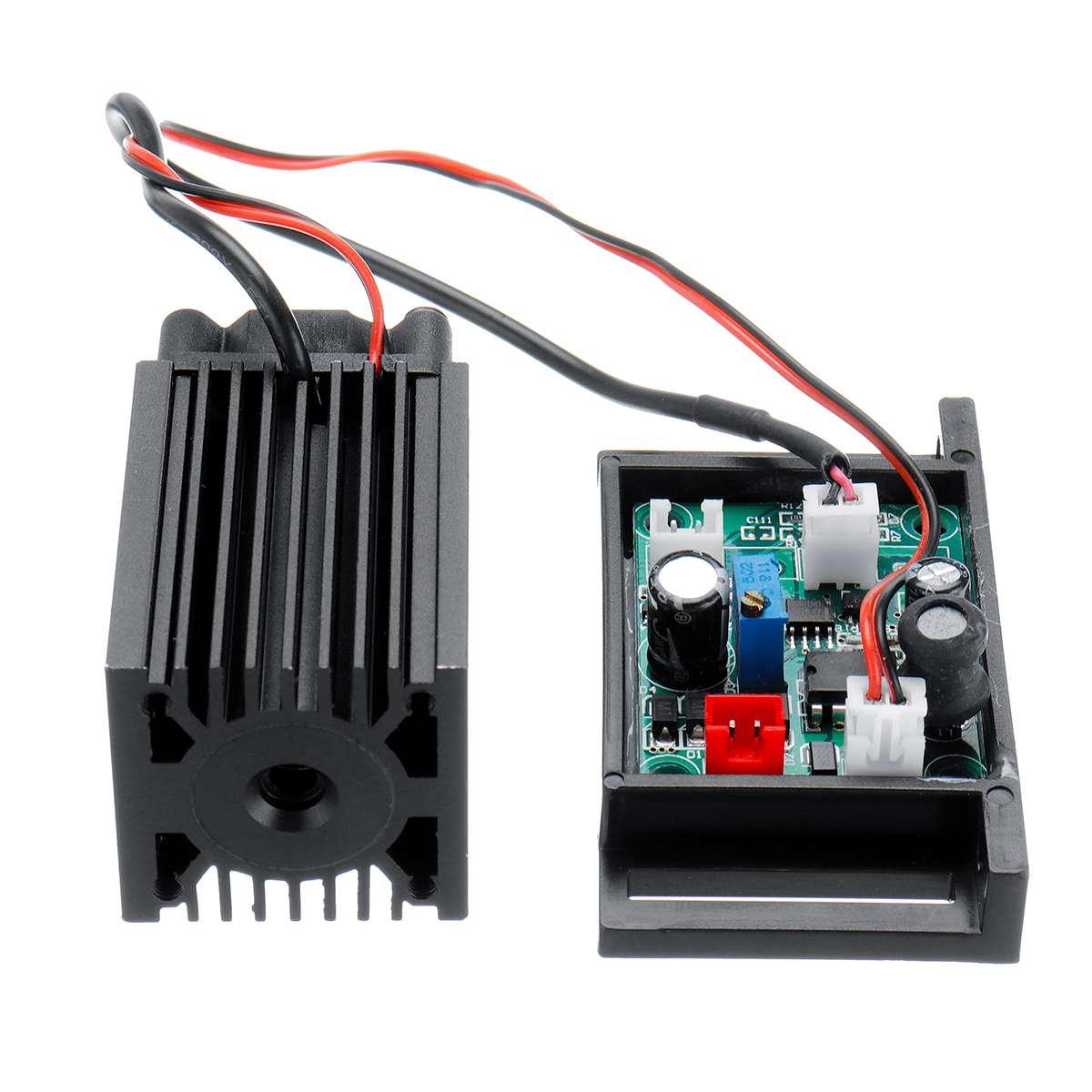 150mW 650nm 655nm 660nm Rot Laser Modul Diode mit 12V TTL Für CNC Laser Carving Gravur Maschine