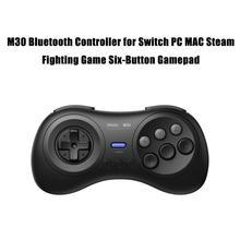 M30 Bluetooth игровой контроллер для коммутатора ПК MAC паровой файтинг 6-кнопочная геймпад на sega Genesis контроллер высококачественный