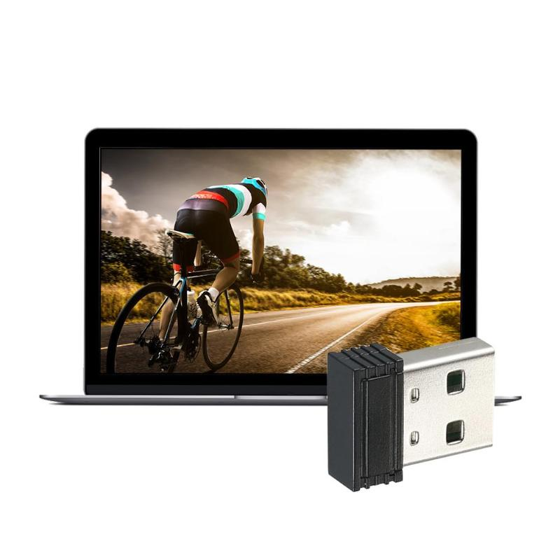 ALLOYSEED Mini ANT+ Dongle ANT+ USB Stick Adapter 5 Meters Transmission Range For Garmin Zwift Wahoo Bkool For Cycling