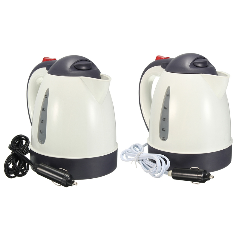 lowest price 1000ML Car Hot Kettle Portable Water Heater Travel Auto 12V 24V for Tea Coffee 304 Stainless Steel Large Capacity Vehicle