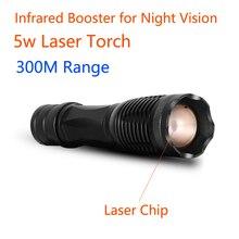Wildgameplus Laser Ir Torch 350M Range Verstelbare Beam Infrarood Torch Jacht Nachtzicht Scope Ir Zaklamp 850nm Invisable