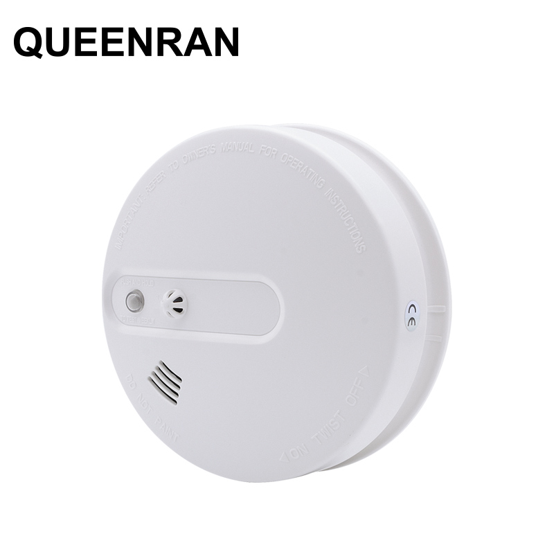 Independent / Wireless Heat + Smoke Detector Temperature Sensor Kitchen Fire Alarm Sensor For Wireless WIFI GSM PSTN Alarm