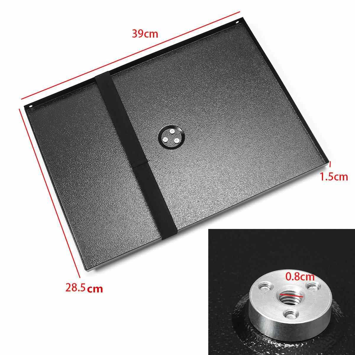 Para trípode de tornillo de 1/4 ''3/8'' y soporte de bandeja de Metal para proyector portátil de 7 ''-15'' monitores resistentes y duraderos sólidos fuertes