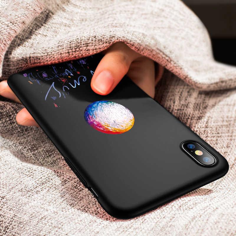 حقيبة لهاتف أي فون XS ماكس XR X الأسود لينة TPU ل فون 7 8 زائد 6 6 S جرو كس كوكه كابا قذيفة ل أبل XS ماكس XR X 7 زائد 6 s