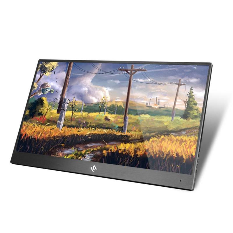 15.6 Inch Super Thin IPS Touch Screen For PS3 PS4 XBOX Car Use <font><b>Portable</b></font> <font><b>Monitor</b></font> For PC Laptop 1920 * <font><b>1080P</b></font> HD LCD Screen image
