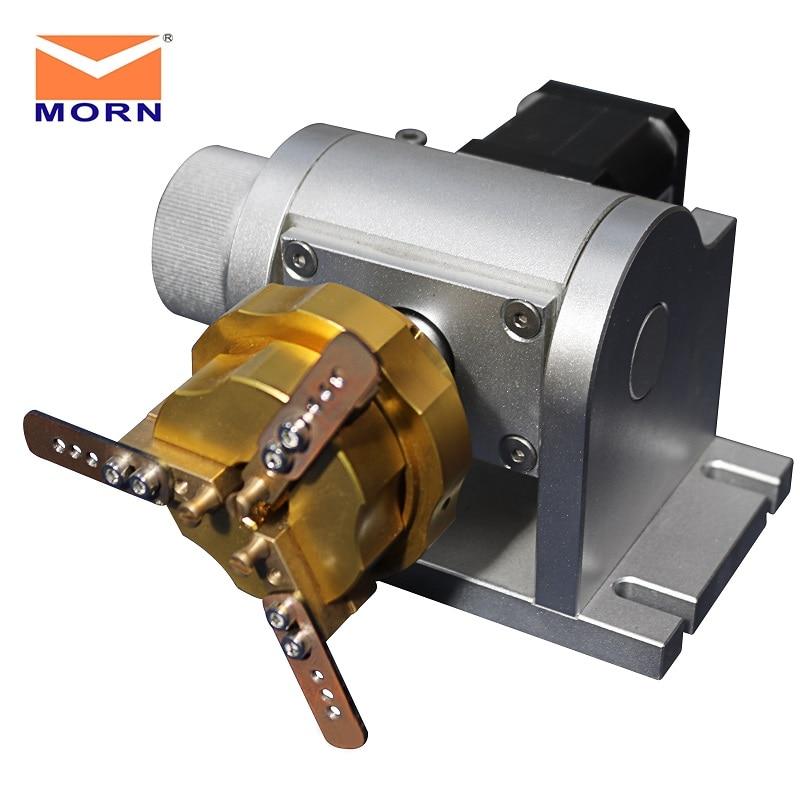 MORN Rotary Device Attachment Fiber Laser Marking Machine 110*110mm 300*300mm 20 30 50 watt