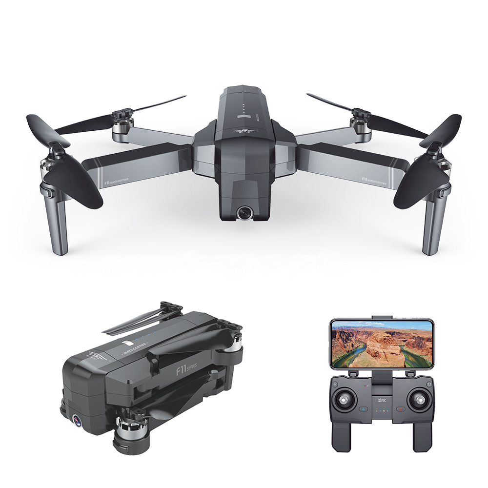 GOOLRC F11 2.4GHz RC Drone 5G Wifi FPV GPS Brushless Drone with HD Camera 1080P Wide Angle RC Quadcopter Helicopter