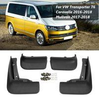 Car Mud Flaps Splash Guards for Fender Mudflaps Mudguards For VW Transporter T6 Caravelle 2016 2017 2018 Mulivan 2017 2018