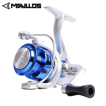 Mavllos Cheap Fishing Spinning Reel 2000 3000 6000 Max Drag 10kg Metal Gear Freshwater Carp Surf Saltwater