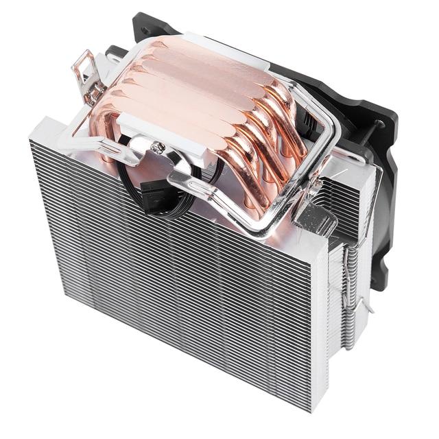 SNOWMAN 4 PIN CPU cooler 6 heatpipe Single/Double fan cooling 12 cm fan LGA775 1151 115x 1366 support Intel AMD 5