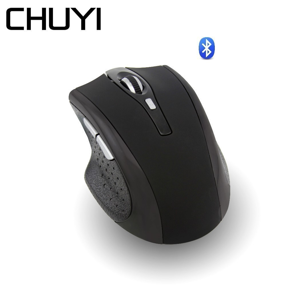 CHUYI Wireless Bluetooth Mouse Ergonomic Rechargeable Silent Mice 1600DPI Optical Mouse With Wrist Rest Mouse Pad