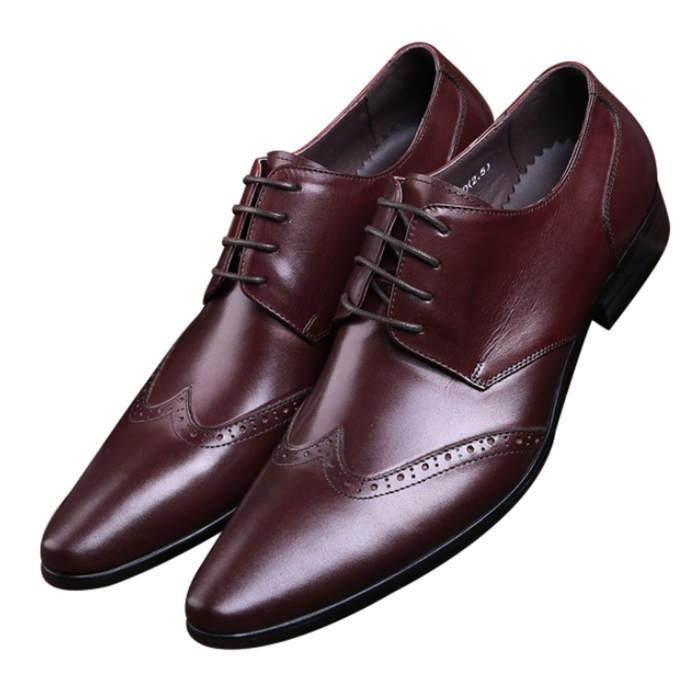 De Black Moda Oxfords Zapatos Vestir Brown Graduación Sociales qaqwZI0