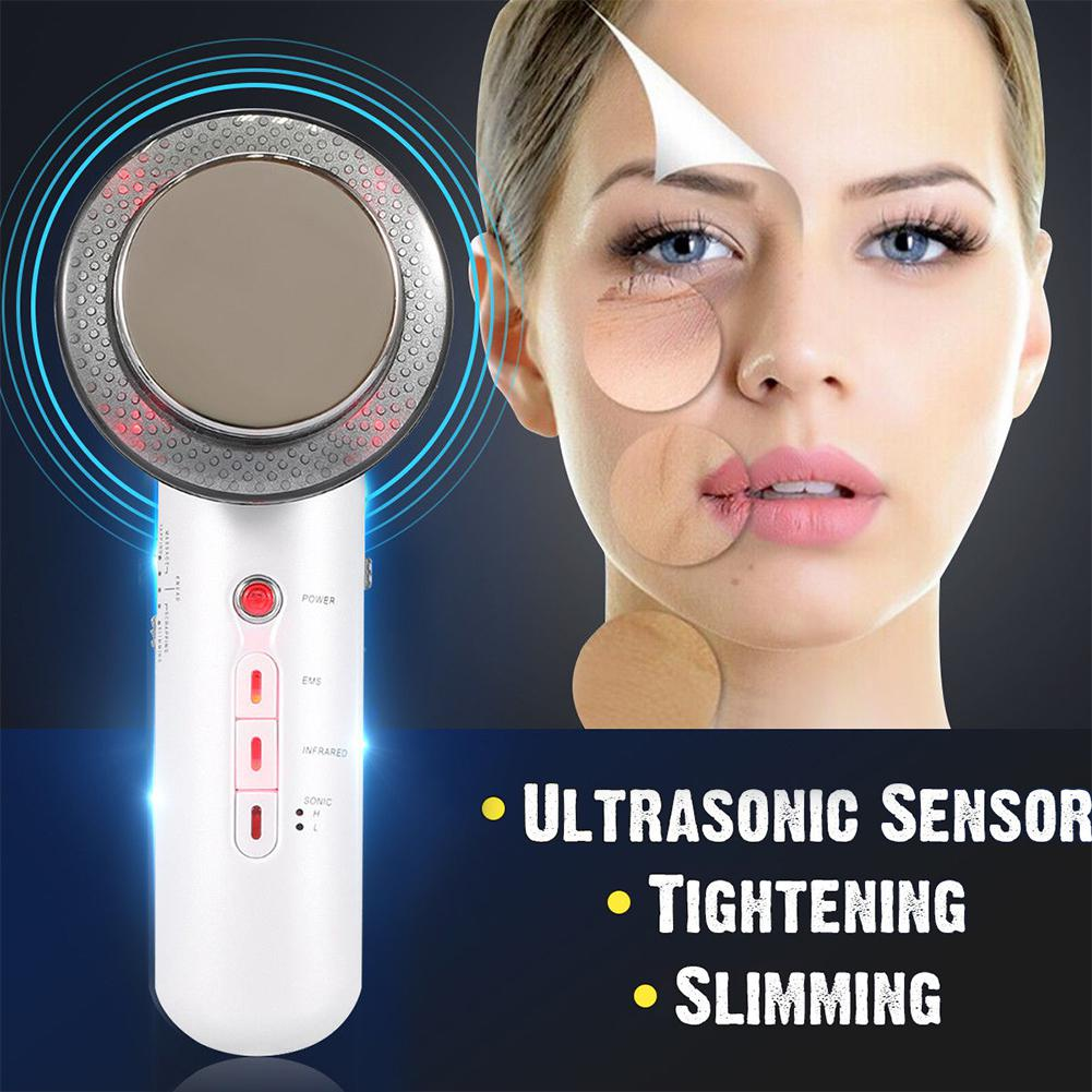 Face Skin Care Ultrasound Cavitation Body Slimming Massager Weight Loss Anti Cellulite Fat Burner Ultrasonic Massager