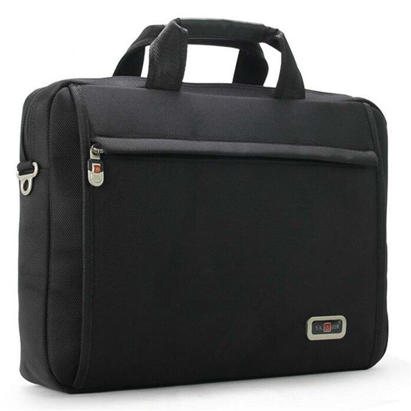Men Briefcase Handbags Crossbody-Bag Notebook-Shoulder-Bag Men's Women Masculina Oxford