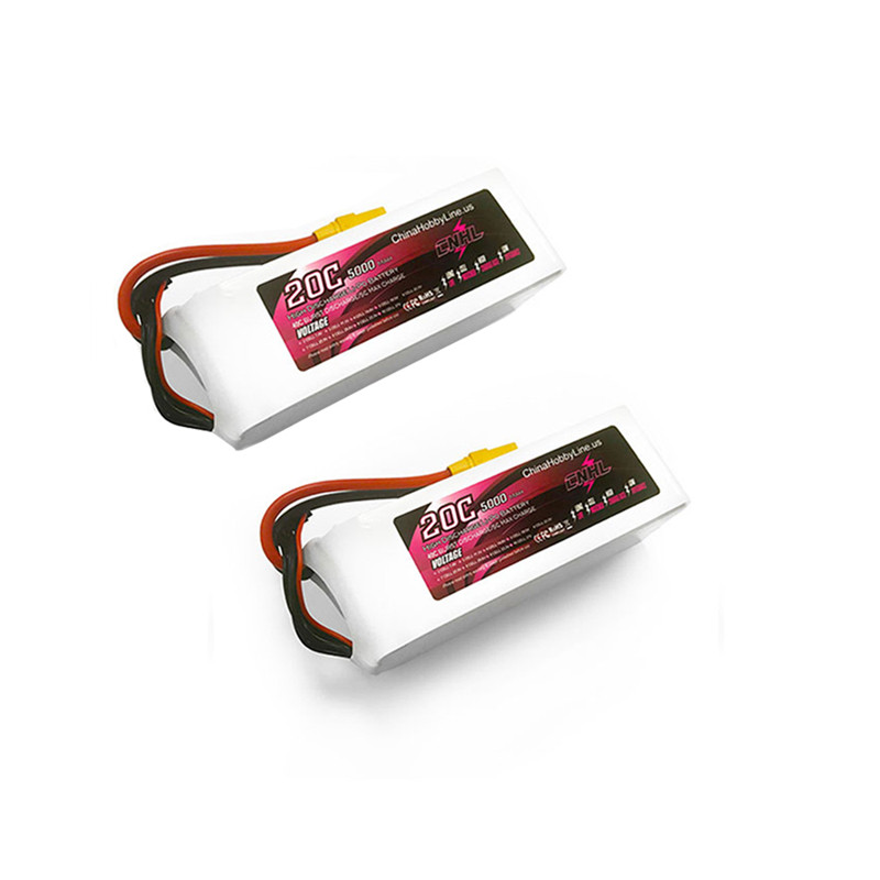 1/2PCS CNHL 6S 22.2V 5000mAh 20C Lipo Battery with XT90 Plug for RC Drone FPV Racing Models Spare Part DIY Accessories image