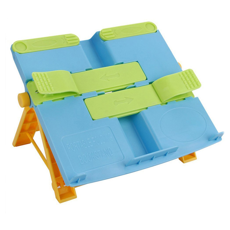 Foldable Book Stand Holder Portable Bookends Bookstand Reading Support For Student Children Writing Bracket Office Accessories