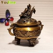 Chinese bronze faucet incense burner collection unique indoor decoration