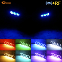 For Alfa Romeo 159 2005 2011 Excellent RF Bluetooth Controller Multi Color Ultra bright RGB LED Angel Eyes Halo Ring kit
