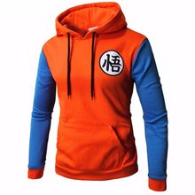 Mais novo anime dragon ball hoodie cosplay 3d super saiyan dragonball z dbz son goku bolso com capuz camisolas hoodies homem/mulher(China)