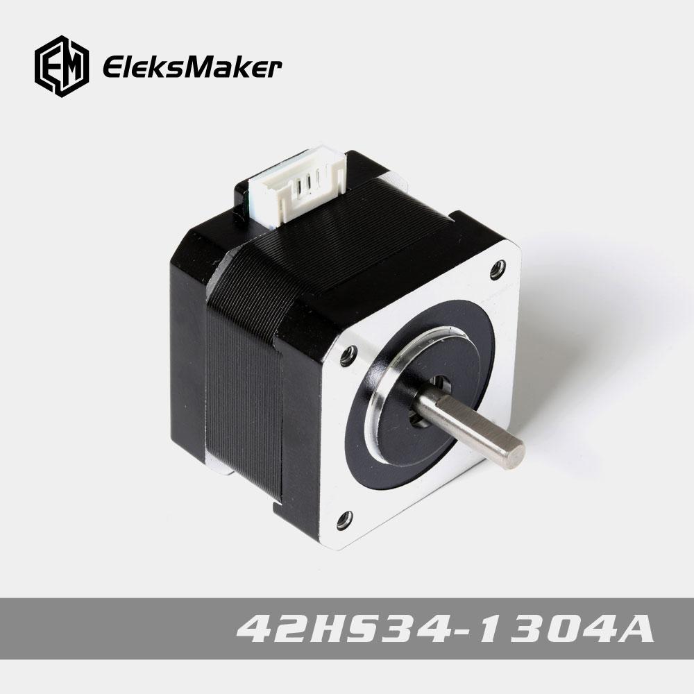 EleksMaker 42HS34-1304A 1.8 Hybrid Stepper Motor 2 Phase For Laser Engraver Machine CNC Router