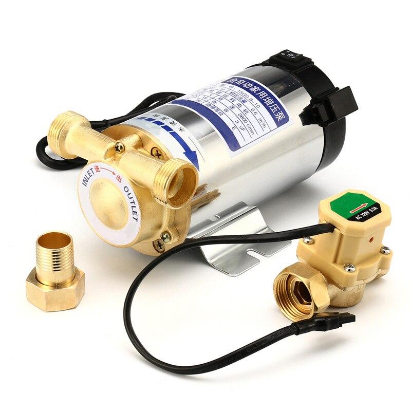 100W 150W Pipeline Pump Automatic Circulating Water Booster Pump 220V 50HZ Electric Pressure Pump Boosting Pump