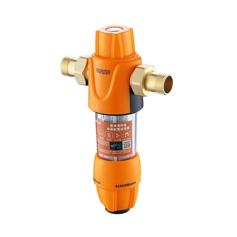 Purificateur d'eau de préfiltre de tuyau d'eau du robinet en laiton