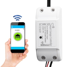 Garage Door Wifi Remote Control Smart Door Opener Device Close Open Support for Alexa Google Mobile Phone 2.4 GHz WIFI
