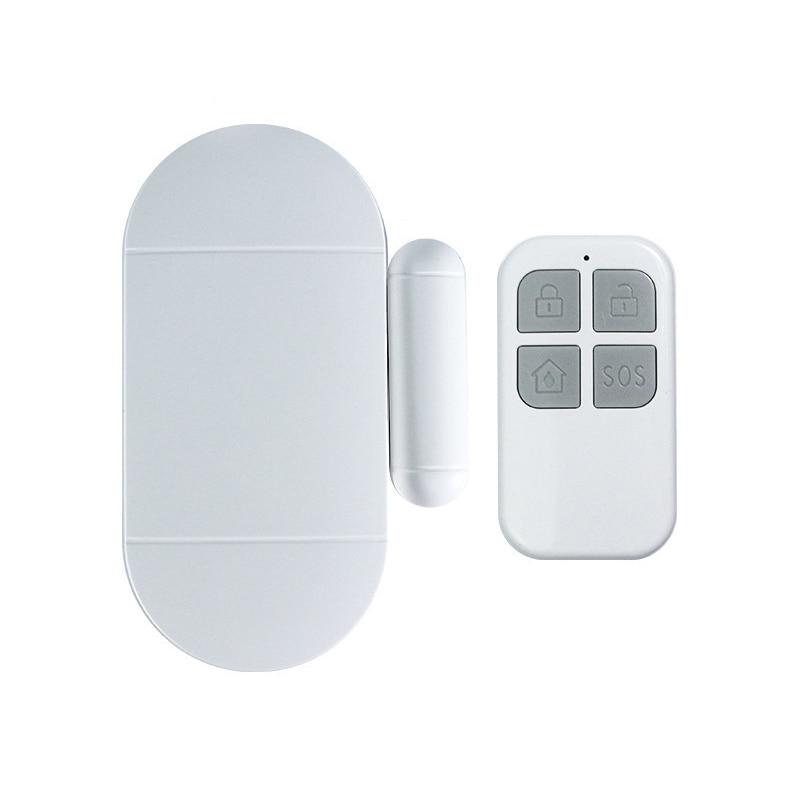 Home Security Door Window Magnetic Sensor Alarm Warning System Wireless Remote Control Open Door Detector Burglar AlarmHome Security Door Window Magnetic Sensor Alarm Warning System Wireless Remote Control Open Door Detector Burglar Alarm