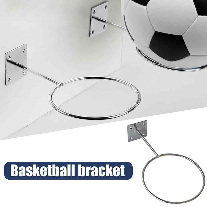 حامل كرة القدم جدار جبل المرآب كرة السلة تخزين الرف عرض حامل الكرة لكرة السلة الكرة الطائرة كرة دواء كرة القدم