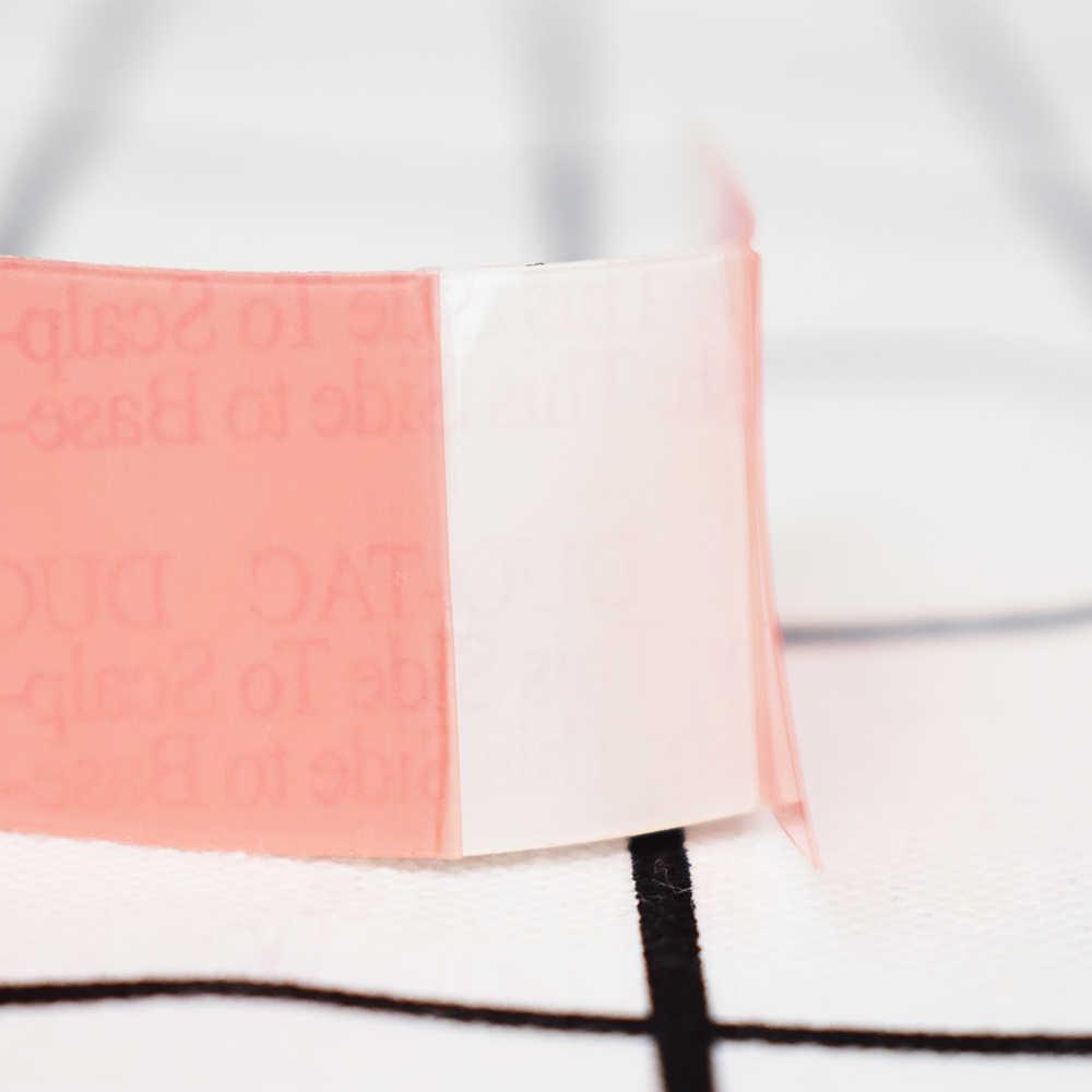 36 шт./лот DUO-TAC красный рулон кружева парик клей ленты для наращивания волос двусторонний клей ленты, клеи лента наружная, переплетение волос
