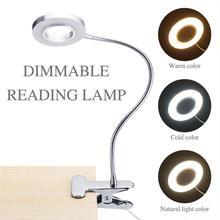 Klip lampa stołowa LED lampa stołowa tatuaż światło przenośne permanentne brwi Manicure światło USB przybory kosmetyczne do makijażu paznokci łóżko użytkowania