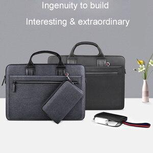 Image 1 - WIWU laptop çantası macbook çantası hava 13 durumda Pro 13 15 16 kadın erkek çantası dizüstü bilgisayar çantası 14 inç naylon su geçirmez laptop çantası 15.6