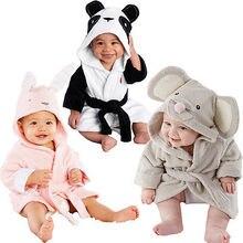 Новейшая детская одежда для сна для маленьких мальчиков и девочек одежда для сна милая плюшевая зимняя теплая ночная Пижама с животными