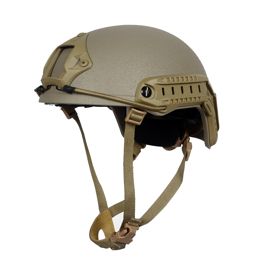 T S N KGEAR Military Enthusiasts High Cut Tactical Adjustive Helmet Standard Version With ACH Occ