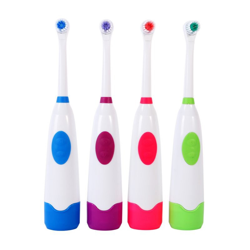 Adults Electric Toothbrush Replacement Teeth Whitening Children Toothbrush Battery Powered Pro Dental Equipment