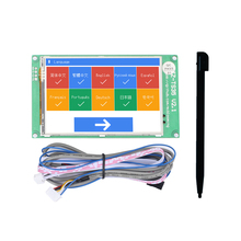 Jz-Ts35 3.5-Inch Touch Screen Display Board Compatible With Ramps1.4 Mega2560 Marlin 3D Printer Accessories