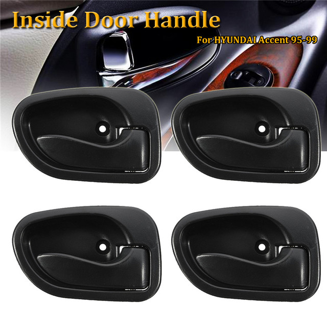 4Pcs Insider Door Handle Interior Front Rear Left Right For Hyundai