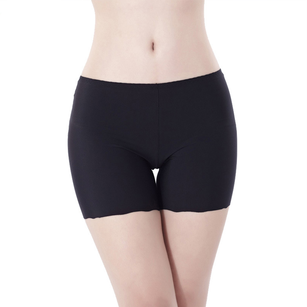 Comfortable Seamless Ice Boxer Short Sexy Women Safety Pants Shorts Breathable Underwear