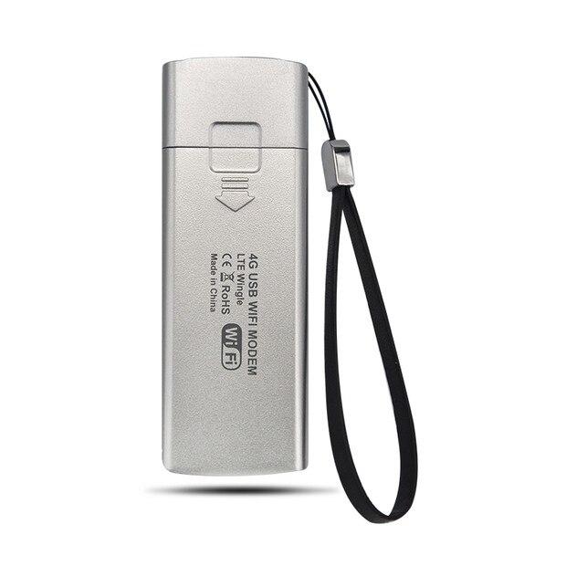 Sans fil 4G Portable Hotspot Fdd Lte Mobile Wifi Usb modem routeur 100 Mbps 4G Lte clé wi-fi Sim emplacement pour cartes carte réseau