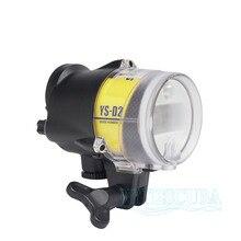 Nite Tüplü Dalış El Feneri Deniz ve Deniz YS-D2 Strobe için RX100 TG5 DSLR Kamera Sualtı Fotoğraf Aksesuarları Su Geçirmez 100 m