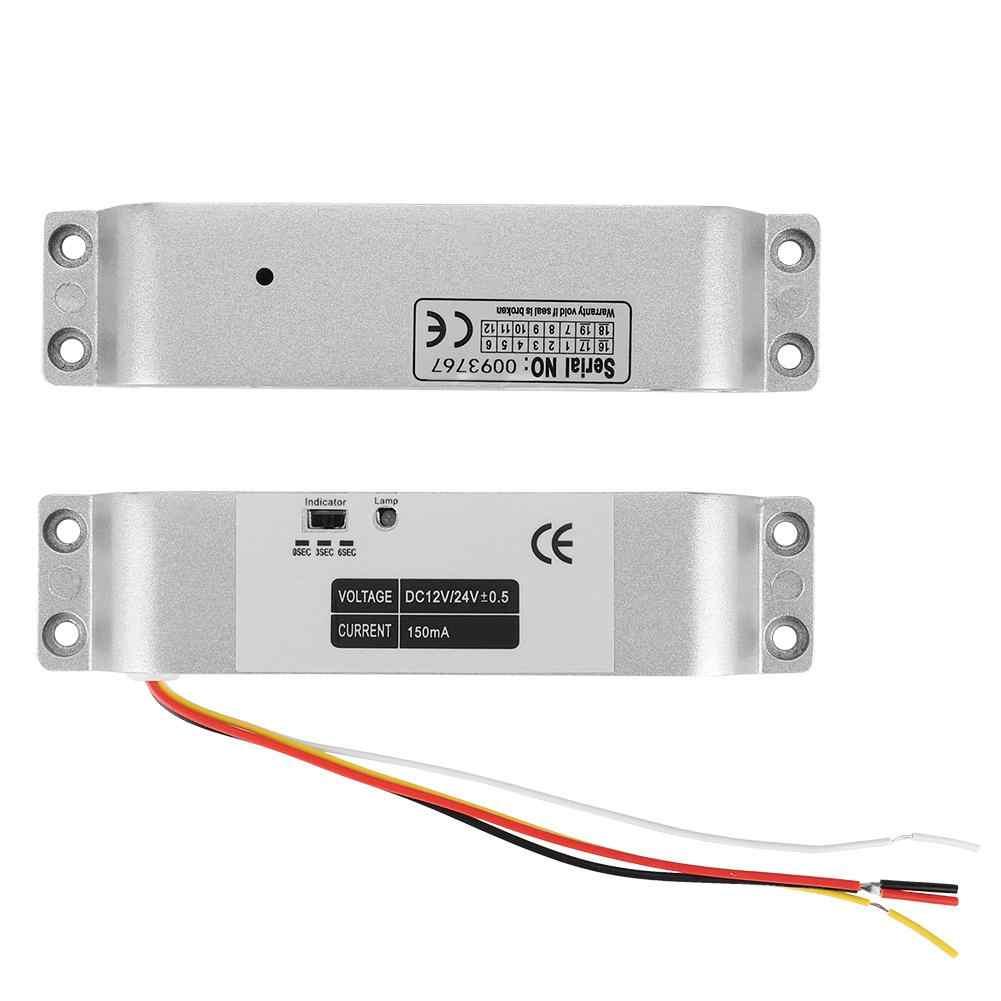 DC12V 1000KG ไฟฟ้า DROP ประตูล็อคแม่เหล็กเหนี่ยวนำประตู ENTRY Access Control