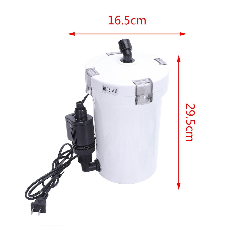 Hw 603B Silent Filter Bucket Filter Aquarium Filter Tank Aquarium Aquarium Filter Pump in Filters Accessories from Home Garden