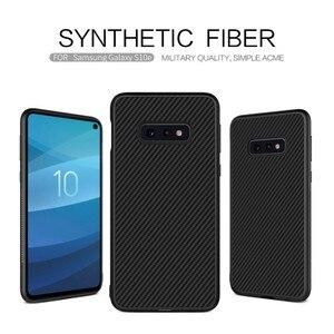 Image 3 - Fibre synthétique Nillkin pour Samsung S10e coque en fibre de carbone PP coque arrière en plastique pour Samsung Galaxy S10e coque luxe 5.8
