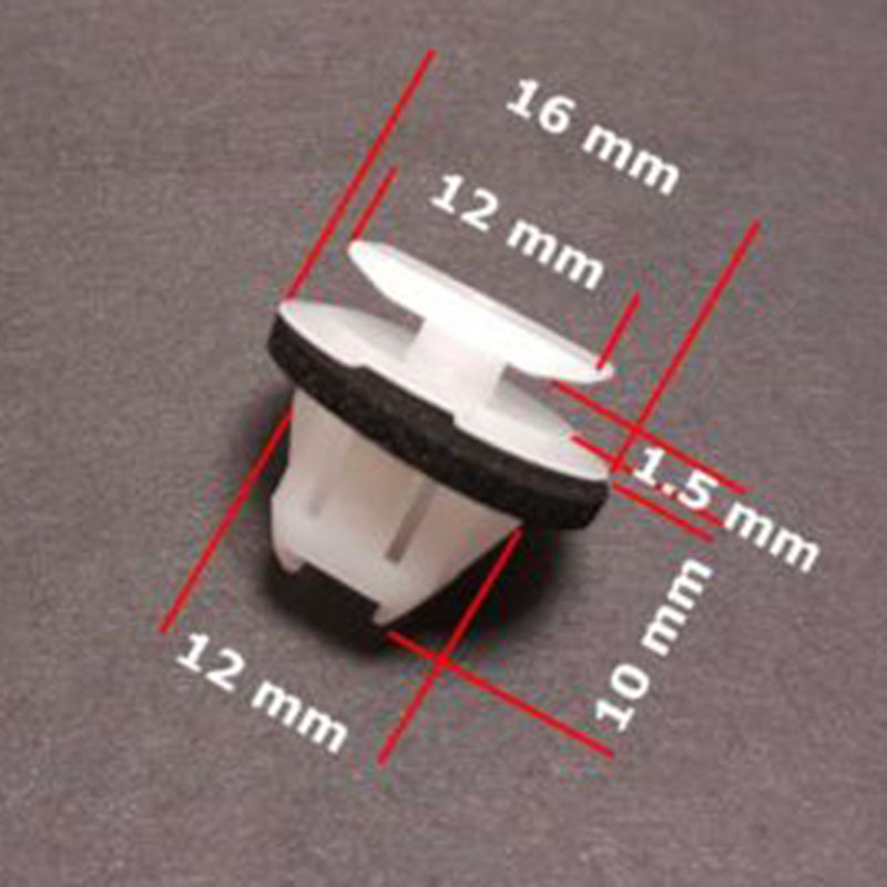 Image 4 - 20pcs Car Wheel Arch Surround Trim Clips For Nissan Juke & X Trail T31 Wing Moulding Car Rivets Clips Accessories-in Nuts & Bolts from Automobiles & Motorcycles