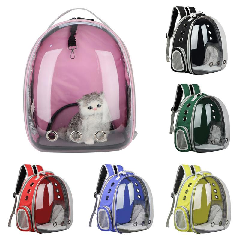 Oxford Multi-Function Cat Bag Transparent Pet Out Carrying Case Folding Open Space Backpack Tent 29 x 31 x 42cmOxford Multi-Function Cat Bag Transparent Pet Out Carrying Case Folding Open Space Backpack Tent 29 x 31 x 42cm