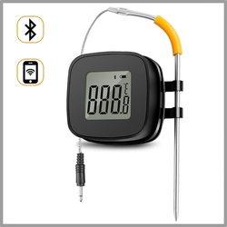 LCD BT Draagbare Elektrische Voedsel Koken Barbecue Temperatuur App Controll Digitale Display Alarm Measurer Temperatuur