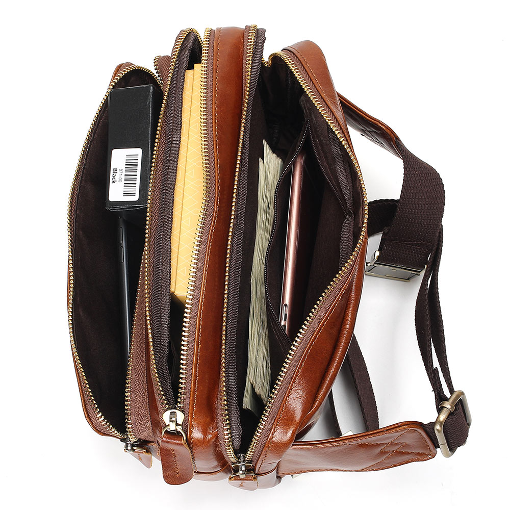 c5fc1b2b1e7d8 Vesna 100% Genuine Leather Waist Packs Fanny Pack Belt Bag Phone Pouch Bags  Travel Waist Pack Male Small Waist Bag Leather Pouch-in Waist Packs from  Luggage ...